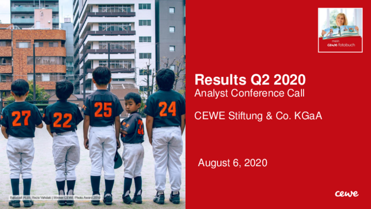 Conference call: Results Q2/2020