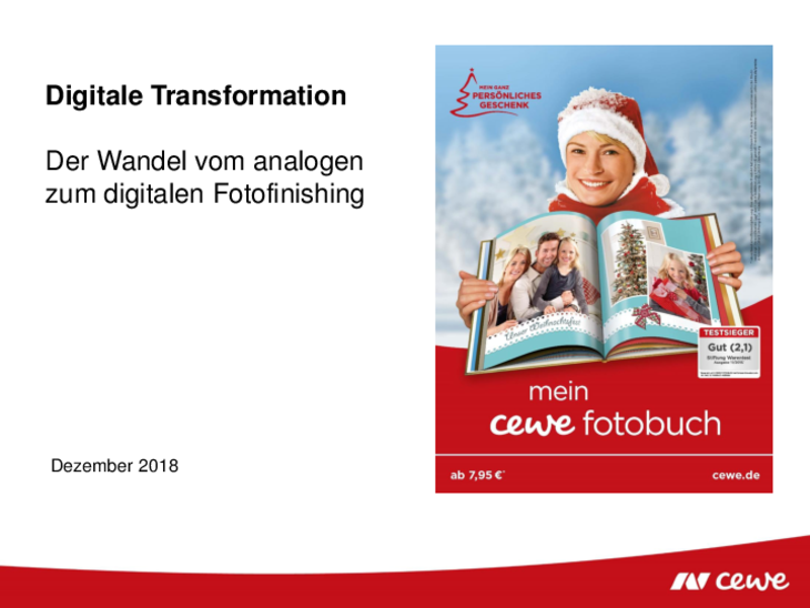 CEWE Analog-/Digital-Transformation